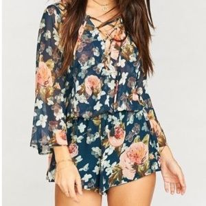 Show me your mumu Tillie romper in fall in love